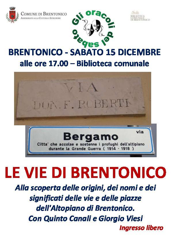 Le vie di Brentonico