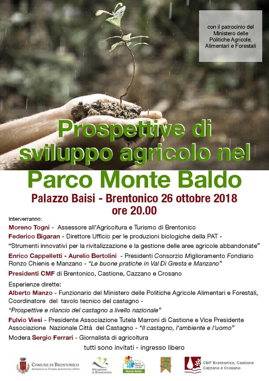 Prospettive di sviluppo agricolo nel Parco Monte Baldo